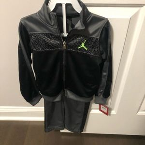 Jordan Sweats and jacket 4T